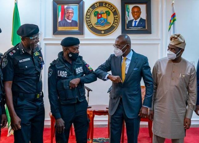 Sanwo-olu commends police officer assaulted in viral video : TV360 Nigeria